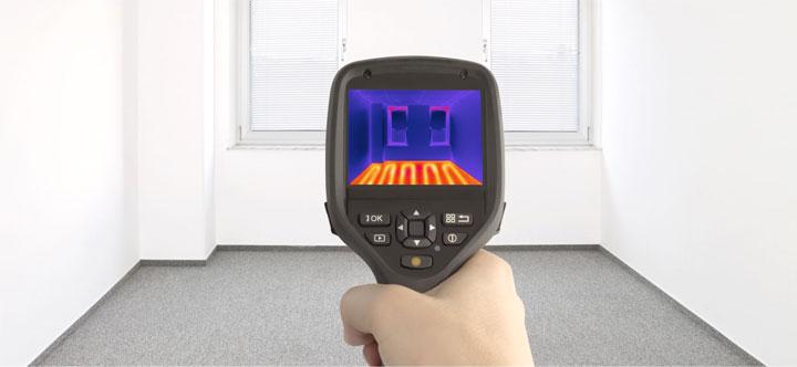 современный инфракрасный термометр