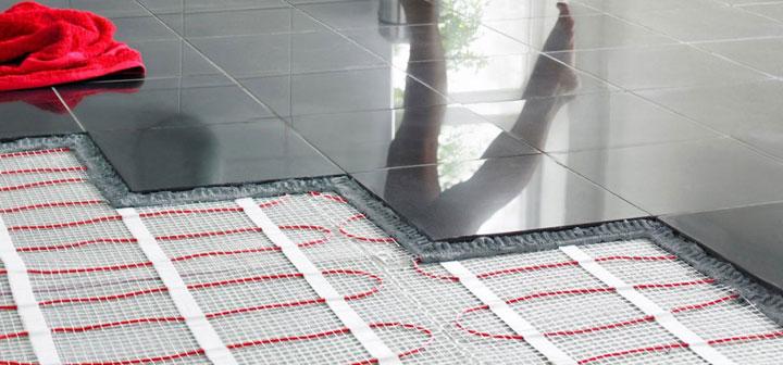 Электрический пол под плиткой