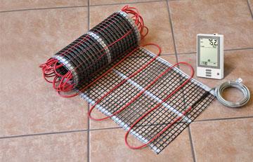Материалы и инструменты для карбонового теплого пола