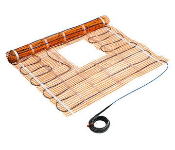 Особенности укладки плитки на теплый пол