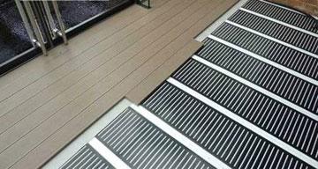 Теплый пол из углеродного волокна