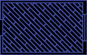 Диагональная укладка
