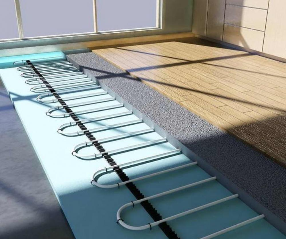 Особенности монтажа ламината на теплый водяной пол