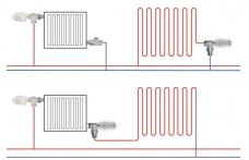 подключение водяного теплого пола от радиатора