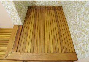 Деревянные полы реечного типа