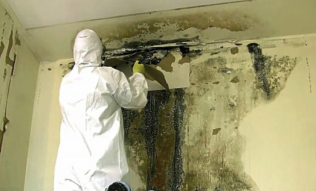 Как осуществить механическое очищение поверхности