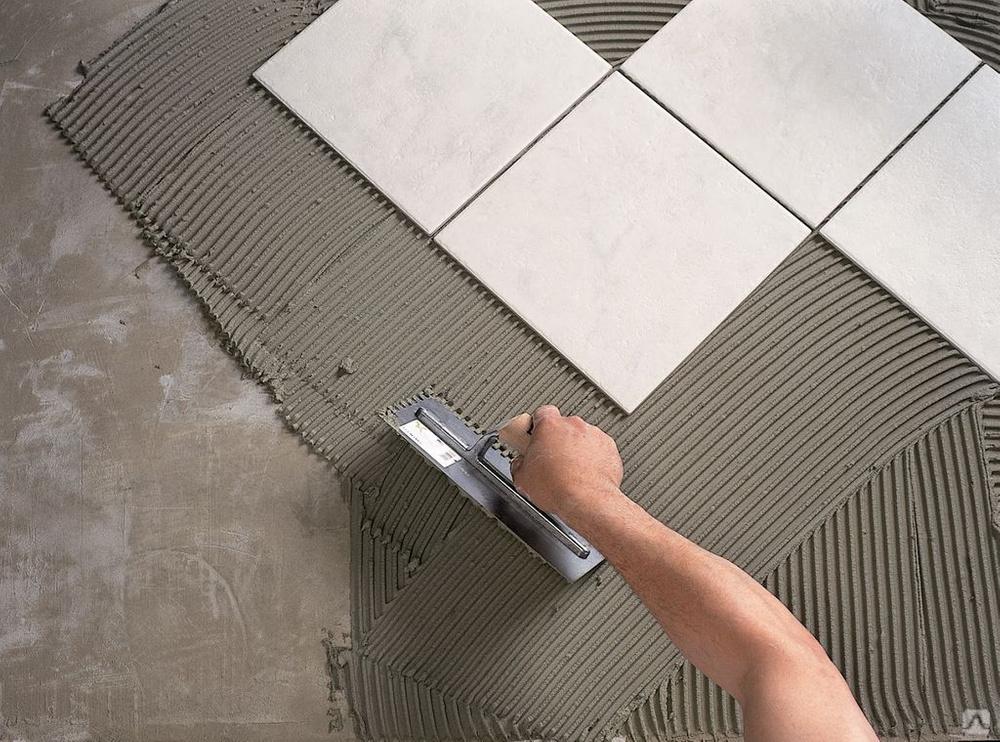 Можно ли класть плитку на пол на цементный раствор сверлить керамзитобетон